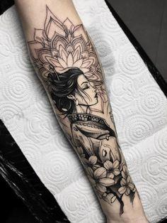 Amazing And Unique Arm Tattoo Designs For Women; Amazing And Unique Arm Tattoo; Cute Tattoos, Unique Tattoos, Beautiful Tattoos, Body Art Tattoos, Hand Tattoos, Tattoo Ink, Tattoo Linework, Tatoos, Amazing Tattoos For Women