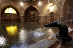Medieval Pool, Kiraly Bath, Budapest
