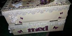 Lindas papercrafting: Førstehjelpskrin til ei venninne / Firstaid box to a friend
