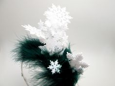 Wacky Tacky Christmas Snowflake Pileup - crazy elf hat - holiday party - Ugly Christmas Sweater Party