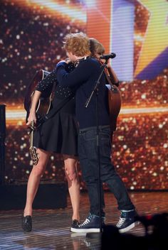 They help each other out in the search for true love. | 23 Times Taylor Swift And Ed Sheeran's Friendship Ruled Everything