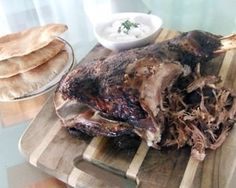 Persian spiced pulled lamb