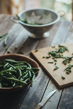 Greek green beans! Once you make this recipe you will never go back to any other.