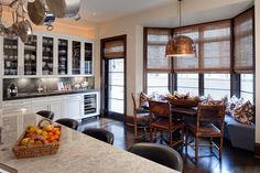 Urban Oasis  Breakfast Room  Kitchen  Eclectic  TraditionalNeoclassical  Transitional by Lewis Giannoulias Interiors