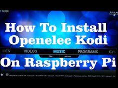 Install and Setup Openelec (Kodi) on Raspberry Pi 2 (2015)