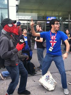 #RayNarvaezJr #Spiderman #NYCC #ComicCon #AchievementHunter #RoosterTeeth