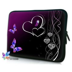 Flower laptop sleeve computer bag notebook Case For women For MacBook Air /Pro Retina 10 13 13.3 15.4 15.6 17.3 inch Laptop Bags
