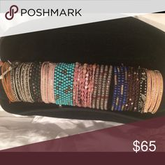 Free people wrap bracelets- each $65 Free people wrap bracelets- each individual one is $35 on here and $30 on mercari Free People Jewelry Bracelets