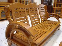Wooden Sofa Set Designs, Wooden Front Door Design, Wood Bed Design, Wood Pallet Furniture, Wood Sofa, Woodworking Furniture, Woodworking Clamps, Living Room Sofa Design, Bedroom Furniture Design