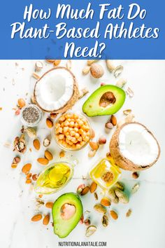 If you're active, eating enough fat is important. Find out how to get enough fat on a plant-based diet and vegan sources of fat. Nutrition For Runners, Nutrition Plans, Nutrition Tips, Runners Food, Pre And Post, Sports Nutrition, Plant Based Diet, Healthy Fats, Vegan
