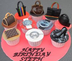 Celebrate with Cake!: Fashion Cupcakes