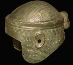 Man-Bun Mania: Ancient Signifier Extraordinaire: The gold helmet of Meskalamdug from Ur, complete with man-bun!