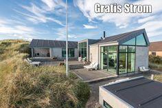 Modernes Ferienhaus in der Nähe vom Strand. Nördlich von Søndervig. Leider kein Hund erlaubt und ein wenig teuer.