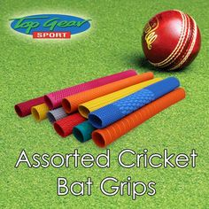 Need to have your old cricket bat grip replaced? Head down to Top Gear Sport George for our assorted cricket bat grips available in all colours. #Cricket #topgearsport
