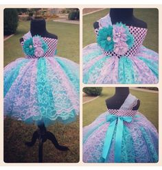 Lace tutu idea! Tulle & layer of lace above or use all lace