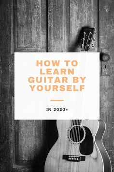 Learn guitar by yourself with this guide! I go over a few strategies that I used to learn guitar, and offer you the resources that helped me! Guitar Strumming, Guitar Chords And Lyrics, Easy Guitar Songs, Fingerstyle Guitar, Music Guitar, Playing Guitar, Learning Guitar, Guitar Tabs, Jazz Guitar