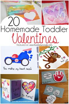 Homemade Valentines not only make the perfect keepsake folr the grandparents or mommy and daddy, but they can be so much fun to make. There are a ton of cute homemade Valentines that are perfect for your toddler that involve something as easy as handprint art to some gorgeous watercolor artwork. Here are 20 adorable homemade …