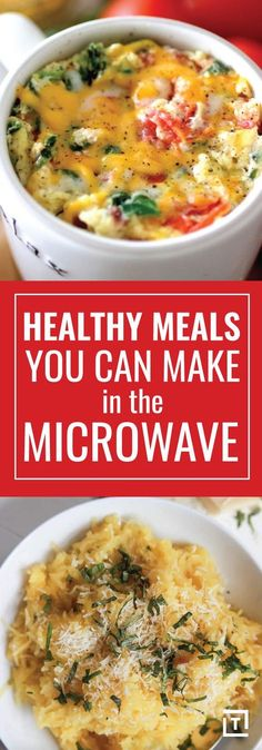 Healthy Meals You Can Make in a Microwave