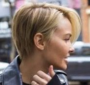Lara Bingle Short Hair