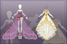 [Close] Adoptable Outfit Auction 8-9 by LifStrange.devian... on @DeviantArt