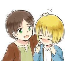 Armin and Eren