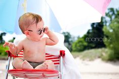 beach baby, baby on beach, beach baby photography, infant photography