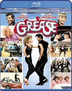 Grease. Ah the great story of changing everything about yourself just to get a guy!  However, I LOVE Travolta and some of the songs are fantastic.  It's set in the 50s with an 80s ness about it.  I'm looking forward to re-watching this.