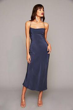 The TEMPTATION Gown in Blue Steel #WhatAFox #StoneColdFox