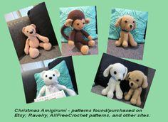 Christmas amigurumi for the grandchildren
