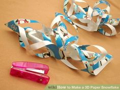 Image titled Make a 3D Paper Snowflake Step 9