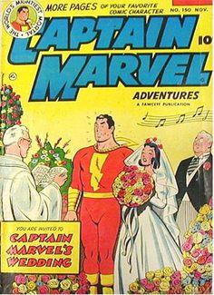 Captain Marvel's Wedding
