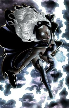 The ladies who make superhero books, indy titles and manga a joy. The Female Stars that make comic books awesome! Storm Xmen, Storm Marvel, Marvel Girls, Marvel Dc Comics, Comic Book Characters, Marvel Characters, Comic Character, Comic Books Art, Comic Art