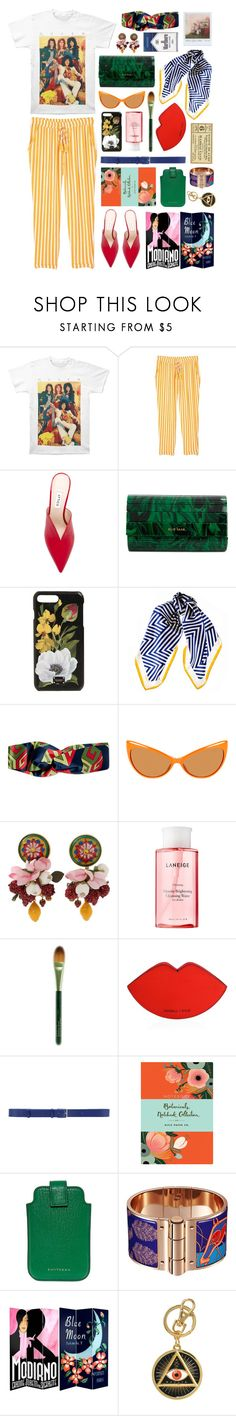 """QUEEN BEEM"" by annasandelltobiasen ❤ liked on Polyvore featuring MANGO, Attico, Elie Saab, Dolce&Gabbana, Black, Gucci, Tom Ford, Laneige, Origins and Polaroid"