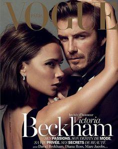 Victoria and David Beckham, photo by Inez & Vinoodh, Vogue Paris, December 2013*