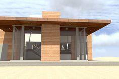 Modern Exterior - Other Elevation Plan #64-245 - Houseplans.com