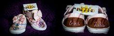 Zapatillas muy chachis. Diseños personalizados pintados totalmente a mano. https://www.facebook.com/ChachiIslandArtDesign