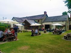 Our Beer Garden http://www.baronatbucknell.co.uk