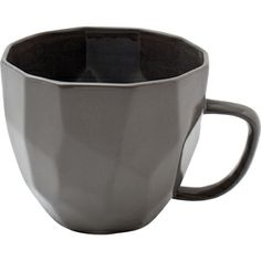 Beautiful graphic mug - fits perfectly with the black or white graphic bowl!