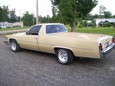 1977 Cadillac Paris DeVille Pickup Conversion