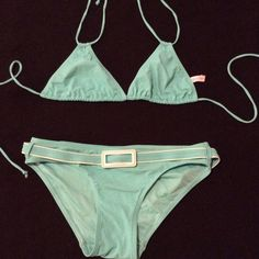 Adorable Calvin Klein bikini Adorable Calvin Klein bikini in excellent condition. The top can be worn several different ways. Calvin Klein Swim Bikinis