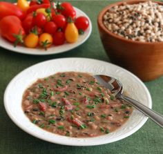 Smoky Black-eyed Pea and Ham Soup...didn't look anything like the photo, but tasted really good! Bill really liked it