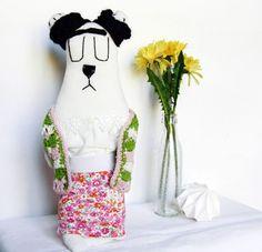handmade wombat puppet friend