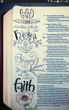 Bible Journaling Art Doodles