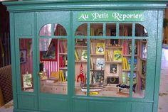 VITRINES MINIATURES - Le magasin TINTIN - Le monde en miniatures