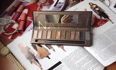 Review Naked #urbandecay #nakedpalette #sombras #mexicanblog #gabriellafiori