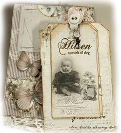 A card and tag featuring the Studio of Memories collection