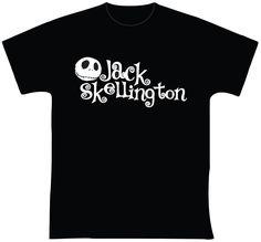"""O Estranho Mundo de Jack Skellington R$ 35,00 + frete Todas as cores Personalizamos e estampamos a sua ideia: imagem, frase ou logo preferido. Arte final. Telas sob encomenda. Estampas de/em camisas masculinas e femininas (e outros materiais). Fornecemos as camisas ou estampamos a sua própria. Envie a sua ideia ou escolha uma das """"nossas"""".... Blog: http://knupsilk.blogspot.com.br/ Pagina facebook: https://www.facebook.com/pages/KnupSilk-EstampariaSerigrafia/827832813899935?pnref=lhc"""