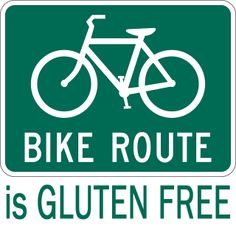 Biking is Gluten Free
