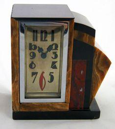 "Things that inspire us: 1930's ""JUST"" Clock #vintage #classic #retro #clock #artdeco #design #horology #timepiece #1930s"