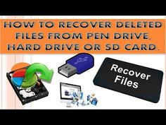How to Recover Deleted Files from USB, SD card or From External hard disk? - Video Tutorials | Entertainment | Tips and Tricks | Earn Money Online 2016